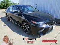 Recent Arrival! 2018 Toyota Camry SE Midnight Black