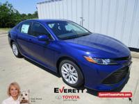 Recent Arrival! 2018 Toyota Camry LE Blue 2.5L I4 DOHC