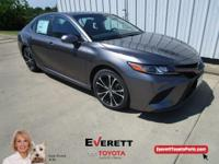 Recent Arrival! 2018 Toyota Camry SE Gray 2.5L I4 DOHC