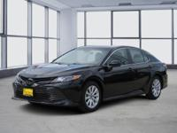 Clean CARFAX. Black 2018 Toyota Camry SE FWD 8-Speed
