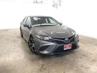 Certified. Predawn Gray Mica 2018 Toyota Camry SE FWD