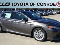 Gray 2018 Toyota Camry XLE 33/22 Highway/City MPG  Let