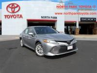 2018 Toyota Camry XLE 10. 33/22 Highway/City MPGEmail