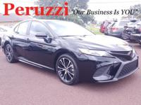 CARFAX One-Owner. Clean CARFAX. Black 2018 Toyota Camry