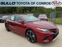 Red 2018 Toyota Camry XSE 39/28 Highway/City MPG  Let