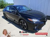 Recent Arrival! 2018 Toyota Camry XSE Midnight Black