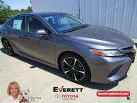 Recent Arrival! 2018 Toyota Camry XSE Gray 2.5L I4 DOHC