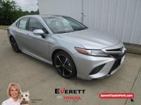 Recent Arrival! 2018 Toyota Camry XSE Silver 2.5L I4