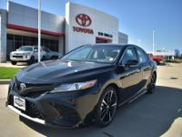Black 2018 Toyota Camry XSE FWD 8-Speed Automatic 2.5L