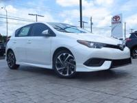 New Arrival! This Corolla iM  has many valuable