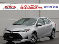 Toyota of Bellingham is pleased to offer this. LE