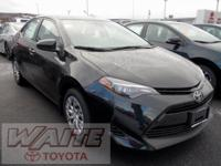 2018 Toyota Corolla LE 36/28 Highway/City MPG Waite