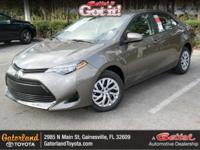This 2018Toyota COROLLA LE will sell fast!! *Backup