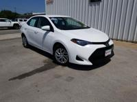 CARFAX One-Owner. Clean CARFAX. White 2018 Toyota