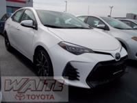 2018 Toyota Corolla SE 35/28 Highway/City MPG Waite