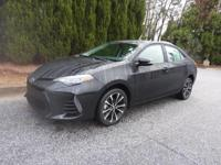 We are excited to offer this 2018 Toyota Corolla. When