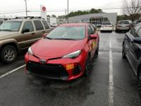 We are excited to offer this 2018 Toyota Corolla. How