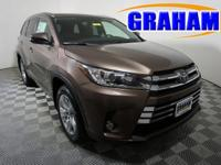 2018 Toyota Highlander Limited $3,190 off MSRP!