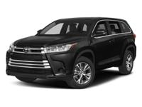 Recent Arrival! 2018 Toyota Highlander Silver LE FWD