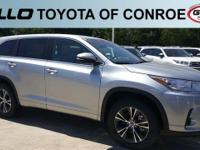Silver 2018 Toyota Highlander LE  Let the team at Gullo