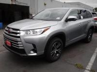 The 2018 Toyota Highlander features an inspired front