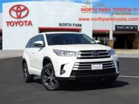 2018 Toyota Highlander LE Plus 27/21 Highway/City
