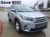 2018 Toyota Highlander in Silver exterior and Ash
