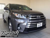 2018 Toyota Highlander in Gray, Backup Camera, USB, Aux