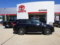 Black 2018 Toyota Highlander SE FWD 8-Speed Automatic
