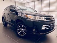 Recent Arrival! 2018 Toyota Highlander Black Metallic