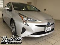 2018 Toyota Prius in Silver, AUX CONNECTION, USB,