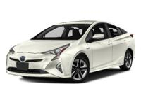 This Toyota Prius delivers a Gas/Electric I-4 1.8 L/110