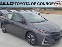 Gray 2018 Toyota Prius Prime Advanced  Let the team at