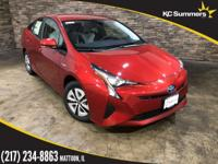 Pearl 2018 Toyota Prius Two FWD CVT 1.8L 4-Cylinder