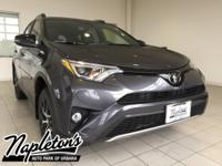 2018 Toyota RAV4 in Gray, AUX CONNECTION, USB,