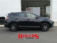 This 2018 Toyota RAV4 has a L4, 2.5L; DOHC 16V high