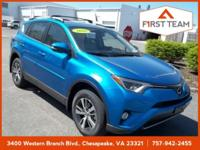Electric 2018 Toyota RAV4 XLE AWD 6-Speed Automatic