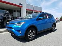 $2,250 off MSRP! 2018 Toyota RAV4 XLE Blue Factory