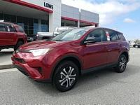 New Price! $2,250 off MSRP! 2018 Toyota RAV4 LE Ruby
