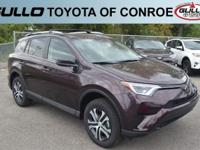 Black 2018 Toyota RAV4 LE 28/22 Highway/City MPG  Let