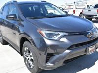 Gray 2018 Toyota RAV4 LE AWD 6-Speed Automatic 2.5L