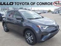 Gray 2018 Toyota RAV4 LE 29/23 Highway/City MPG  Let