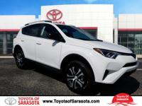 White 2018 Toyota RAV4 LE FWD 6-Speed Automatic 2.5L