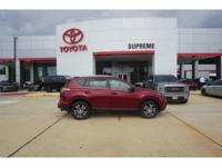 Ruby 2018 Toyota RAV4 LE FWD 6-Speed Automatic 2.5L