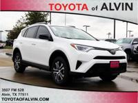 Cloth. Recent Arrival! 2018 Toyota RAV4 White LE FWD