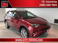 $3,218 off MSRP! RAV4 Limited, 4D Sport Utility, 2.5L