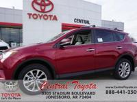 2018 Toyota RAV4 Limited 4D Sport Utility FWD 6-Speed