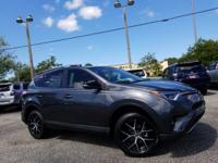 Magnetic Gray 2018 Toyota RAV4 SE FWD 6-Speed Automatic