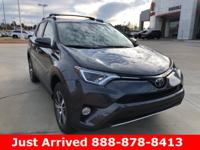 2018 Toyota RAV4 in Gray exterior and Blk/Blk Bordeaux