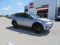 AWD, Black Cloth. 2018 Toyota RAV4 Adventure 4D Sport